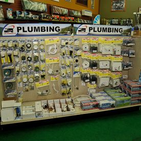 Selection of Plumbing Parts from Discount RV Parts